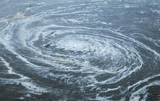 311日本9级地震后的大漩涡