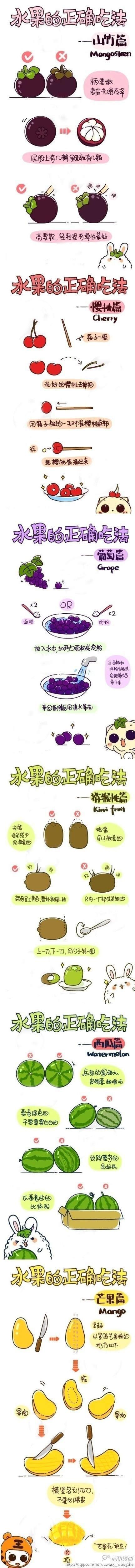 水果的正确吃法(图)